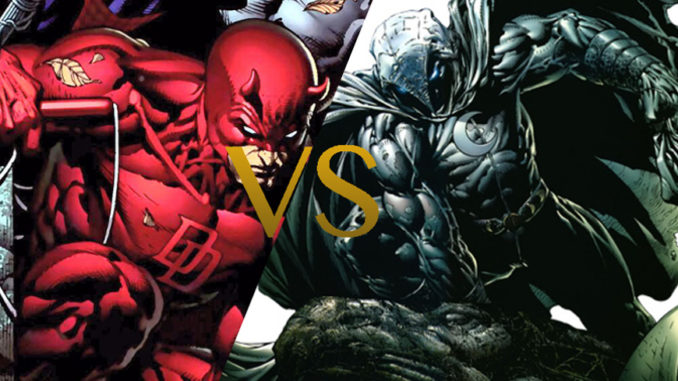 Moon Knight vs Daredevil