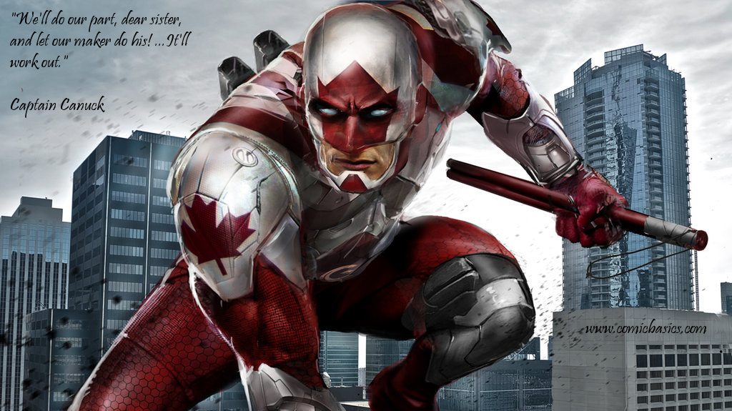 Captain Canuck Quote