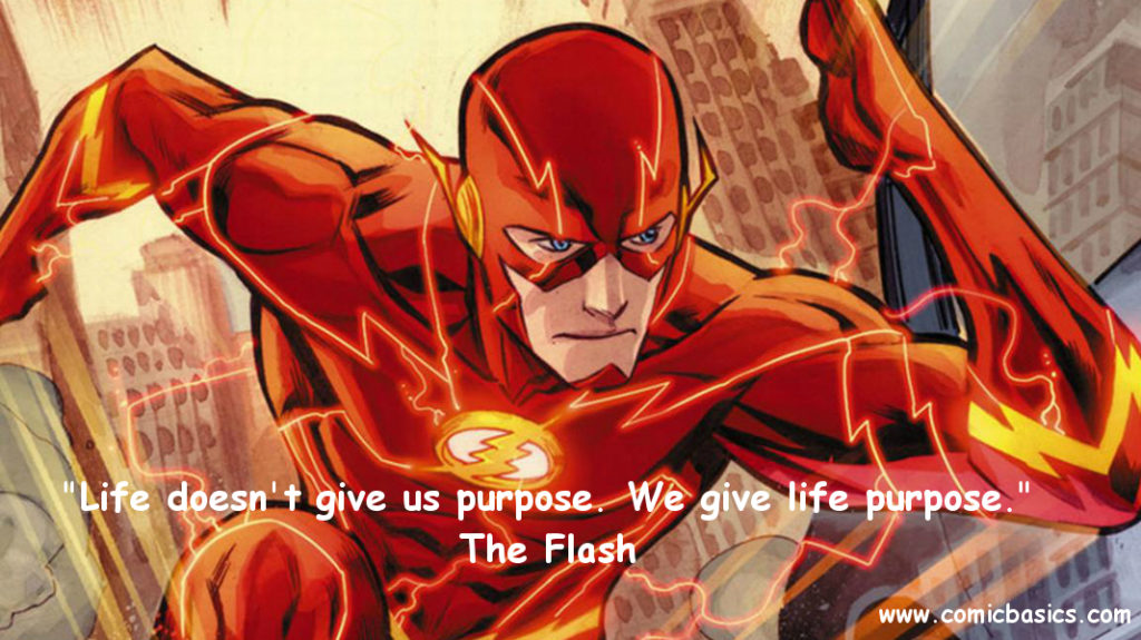 The Flash Quote